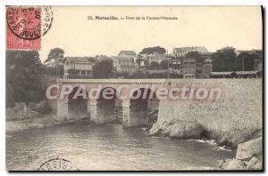 Postcard Old Marseille Fausse Monnaie Bridge