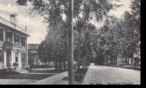 Vermont Woodstock  Elm Street