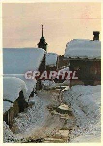 Postcard Modern Bernard Grange Valloire