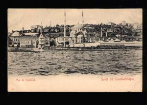 042380 CONSTANTINOPLE Tophane view Vintage PC