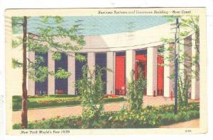 Exterior, Business systems and Insurance Building,Rose Court, New York,PU-1939