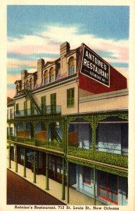 Louisiana New Orleans Antoine's Restaurant 713 St Louis Street