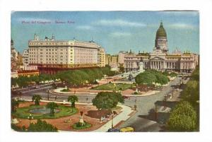 Plaza del Congreso - Buenos Aires, Argentina, PU-1956