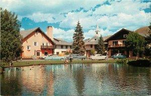 Autos Duck Pond Sun Valley Idaho Mallards Challenger Inn Colorpicture 9697