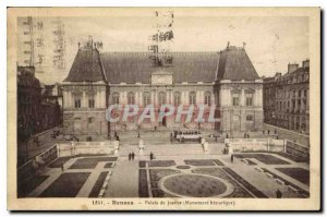 Postcard Rennes Old Courthouse Historic Monument