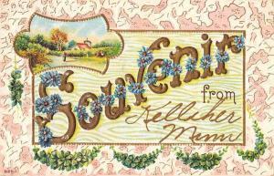 Kelliher Minnesota Greetings Souvenir Vintage Postcard JD933438