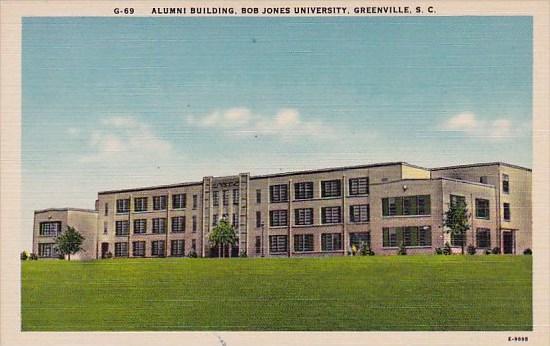South Carlina Greenville Alumni Building Bob Jones University