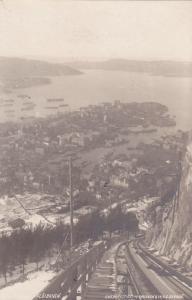 RP: Floibanen , Bergen , Norway , 1910-20s, #2