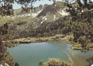 Postal 60926: Estanque y circulo dels Pessons (Valles de Andorra)