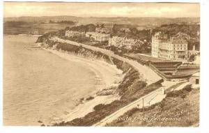 RP; Aerial View, Falmouth from Pendennis Castle, Cornwall, England, United Ki...