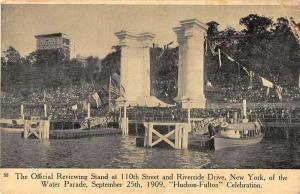 NYC Water Parade Hudson Fulton Celebration Antique Postcard K62942