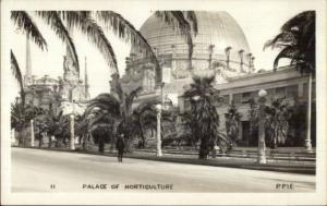San Francisco CA Panama Pacific Expo Palace Horticulture 1915 RPPC