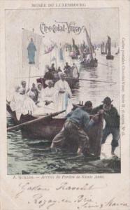 Musee du Luxembourg Arrive du Pardon de Sainte Anne 1904