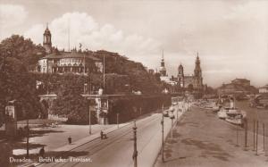 RP: DRESDEN, Germany, 1900-10s ; Bruhl'sche Terrasse