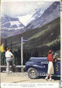 Jasper National Park Canada, du Canada View Point, Motor Road  View Point, Mo...