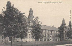 MARQUETTE , Michigan, 1901-07 ; High School