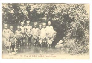 View of Bakeh Lokkoh (topless girls) , Sierra Leone , 00-10s
