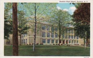 New York Dunkirk High School Curteich