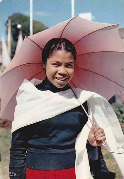 Madagascar Jeune femme Hova