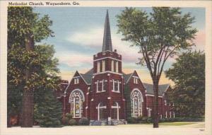 Georgia Waynesboro Methodist Church
