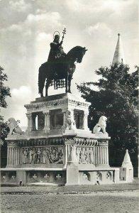Hungary Budapest monument statue horse szent istvan szobor Postcard