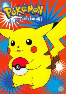 Pokemon Postcard, Pikachu Pokeball Pokemon Character (PC0148) 59V