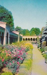Francisran Monastery Rosary Portico And Rose Gardens Washington D C