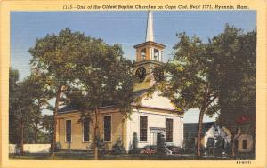 Hyannis Cape Cod MA Baptist Church~Tinkham of Brewster~Baggett~Temple Texas~1946