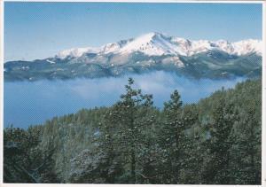 Colorado Rocky Mountains Front Range Pikes Peak