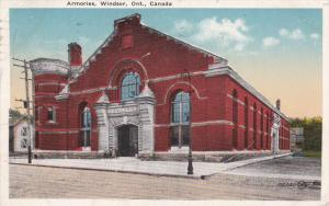 WINDSOR, Ontario, Canada, PU-1919; Armories