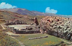 Peru Cusco Anfiteatro de k'Enko, Inca Amphitheatre