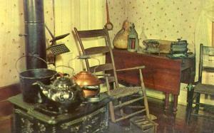 MO - Hannibal, The Kitchen in Mark Twain's Boyhood Home