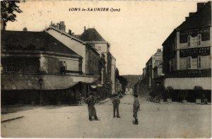 CPA AK Lons le Saunier- carte photo FRANCE- (1044294)