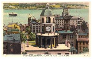 Canada Halifax  Old Clock Tower