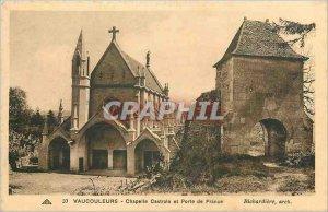 Old Postcard Vaucouleurs Castral Chapel and Porte de France