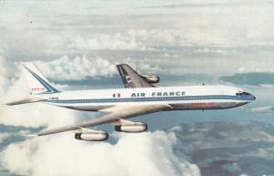 AIR FRANCE Boeing 707 Intercontinental Airplane , 60s