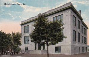 Pennsylvania Derry High School 1917