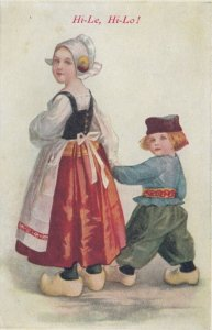 Dutch children, Hi-Le, Hi-Lo!, 1900-10s