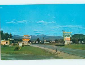 Unused Pre-1980 MOTEL SCENE Twin Mountain New Hampshire NH HJ9163