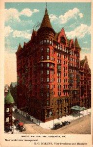 Pennsylvania Philadelphia Hotel Walton