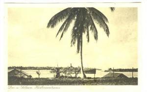 Dar es Salaam, (formerly Mzizima), PU-1936, Steamship; Harbourentrance