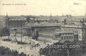 Wien, Vienna Austria, Österreich Parlament am Franzensring  Parlament am Fra...