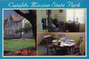 Idaho Cataldo Parish House Cataldo Mission and Old Mission State Park Interpr...