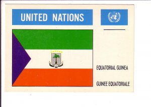 Equatorial Guinea Flag, United Nations