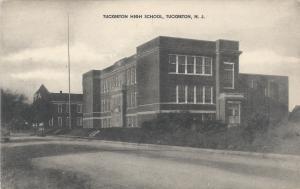 Tuckerton High School, Tuckerton, N.J., Early Postcard, Unused