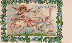 VALENTINE'S DAY, PU-1908; A Token Of Love
