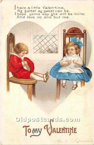 Artist Ellen Clapsaddle Series No 2744 International Art Co. Postal used unkn...
