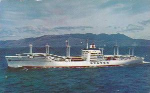 States Steamship Company´s Advance Marinerclass White Cargoliner, States, ...