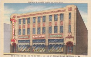 Illinois Chicago Chee Wo Tong Company Chinese Emporium Curteich sk5989