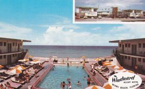 Windward Resort Motel , MIAMI BEACH , Florida , 50-60s ; Swimming Pool